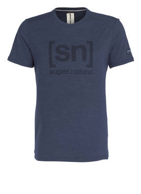 super.natural T-Shirt ESSENTIAL I.D. mit Merinowolle-Anteil