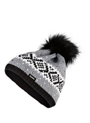 Eisbär Mütze NOMA mit Strasssteinbesatz