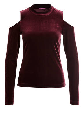 SUZANNA Samt-Shirt