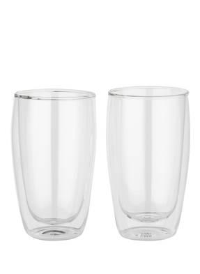 cilio 2er-Set Latte Macchiato-Gläser