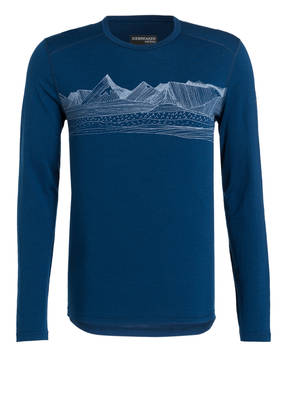 icebreaker Funktionswäsche-Shirt OASIS aus Merinowolle
