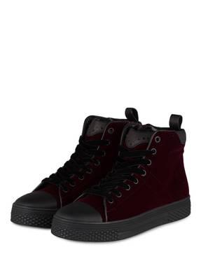 KENNEL & SCHMENGER Hightop-Sneaker STELA aus Samt
