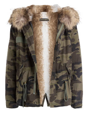 DON'T BELIEVE THE HYPE Parka ZOOEY