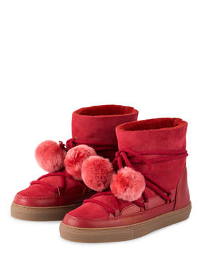 INUIKII Fell-Boots CLASSIC mit Pompons