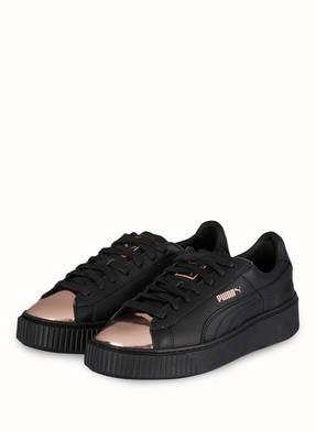 PUMA Sneaker BASKET PLATFORM METALLIC