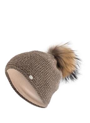 CAPO Mütze BEE mit Pelzbommel