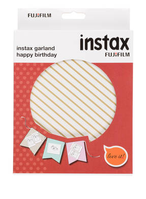 FUJIFILM Girlande INSTAX HAPPY BIRTHDAY