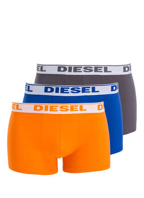 DIESEL 3er-Pack Boxershorts FRESH & BRIGHT