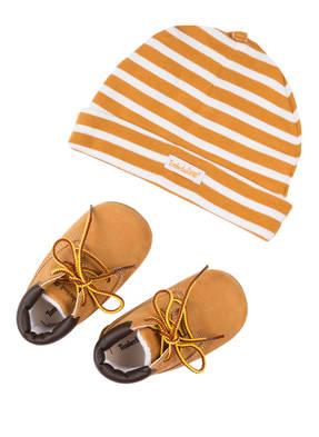 Timberland Set: Schuhe und Mütze in Geschenkbox