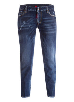 DSQUARED2 Cropped-Jeans TWIGGY