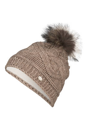 CAPO Mütze mit Pelzbommel