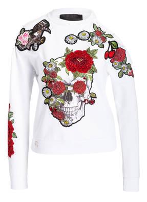 PHILIPP PLEIN Sweatshirt mit Cut-outs