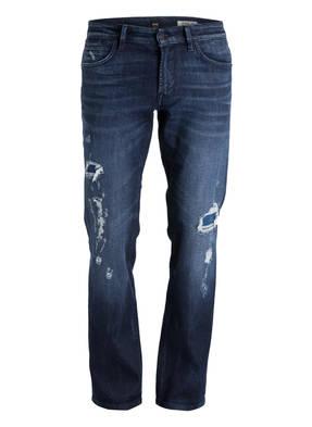 BOSS Destroyed-Jeans ORANGE24 BARCELONA Regular-Fit
