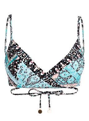 SEAFOLLY Push-Up-Bikini-Top MOROCCAN MOON