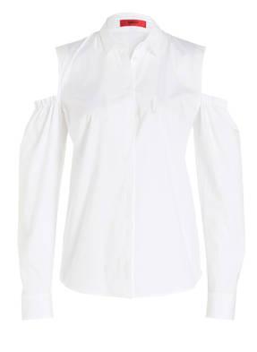 HUGO Cold-Shoulder-Bluse EMBA