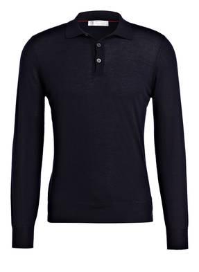 BRUNELLO CUCINELLI Poloshirt mit Cashmere-Anteil