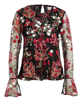 Mrs & HUGS Bluse mit Stickereien