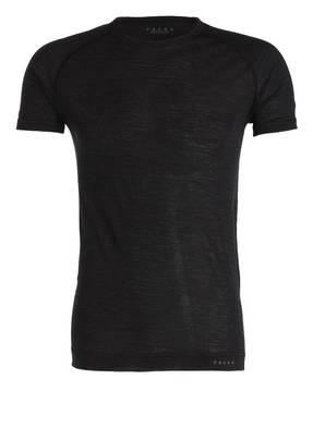 FALKE Funktionswäsche-Shirt SILK-WOOL aus Merinowolle/Seide-Gemisch