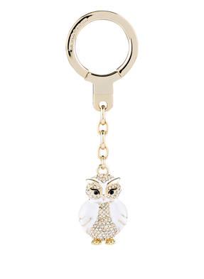 kate spade new york Schlüssel- und Taschenanhänger JEWELED OWL