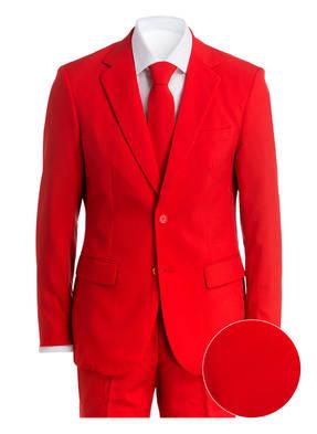 OPPOSUITS Anzug RED DEVIL Slim-Fit