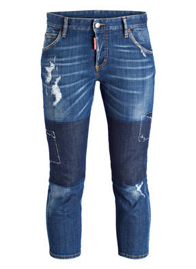 DSQUARED2 Cropped-Jeans SLOUCH