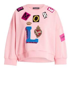DOLCE&GABBANA Cropped-Sweatshirt