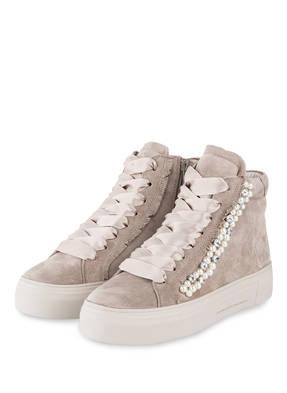 KENNEL & SCHMENGER Hightop-Sneaker BIG mit Perlenbesatz
