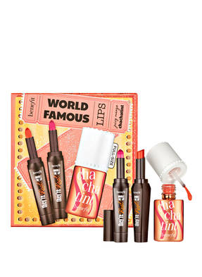 benefit WORLD FAMOUS LIPS