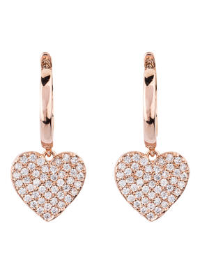 kate spade new york Ohrringe YOURS TRULY PAVE HEART