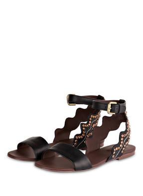 SEE BY CHLOÉ Sandalen mit Nietenbesatz