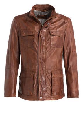 new style 529ff a8734 Lederjacke YAGORO