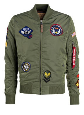 ALPHA INDUSTRIES Blouson MA-1 TT PATCH II