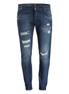 tigha Destroyed-Jeans BILLY THE KID Slim-Fit