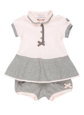 MONCLER Set: Kleid und Shorts