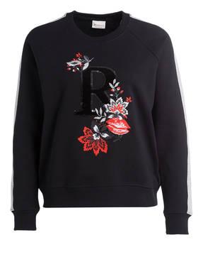 rich&royal Sweatshirt mit Paillettenbesatz