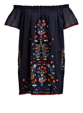 TORY BURCH Bandeau-Kleid mit Stickereien