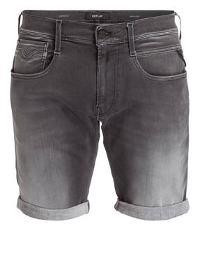 REPLAY Jeans-Shorts ANBASS HYPERFLEX Slim Fit