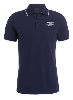 HACKETT LONDON Piqué-Poloshirt aus der ASTON MARTIN RACING KOLLEKTION
