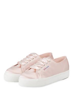 SUPERGA Plateau-Sneaker 2730 aus Satin