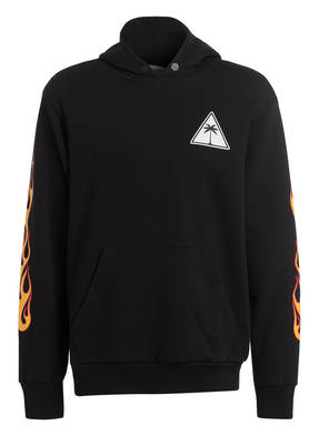 Palm Angels Hoodie PALMS AND FLAMES