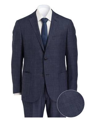 EDUARD DRESSLER Anzug SENDRIK-HF-GREG Shaped-Fit mit Seidenanteil