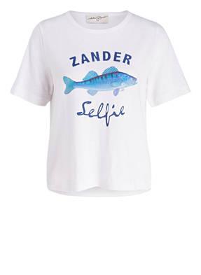 Antonia Zander T-Shirt mit Leinenanteil