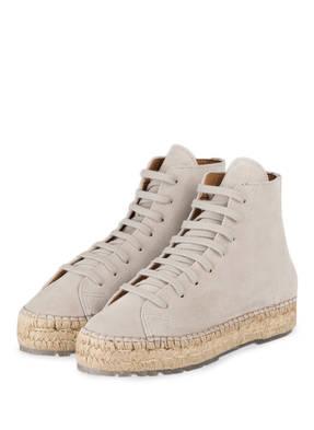 SHABBIES AMSTERDAM Hightop-Sneaker im Espadrilles-Stil