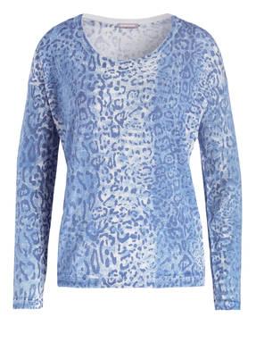 HEMISPHERE Pullover mit Seidenanteil