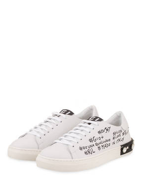 GIO+ Sneaker mit Schmucksteinbesatz