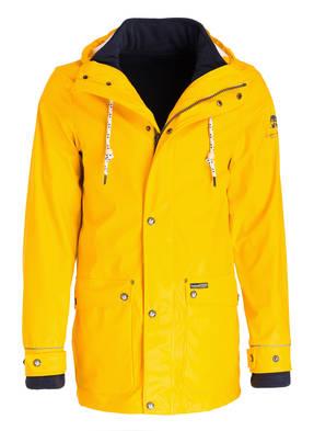 Schmuddelwedda 2-in-1-Regenjacke mit herausnehmbarer Fleecejacke