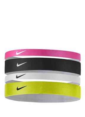 Nike 4er-Pack Haarbänder