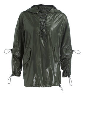IVY PARK Trainingsjacke WET LOOK LACE UP