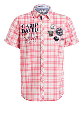 CAMP DAVID Halbarm-Hemd Regular Fit