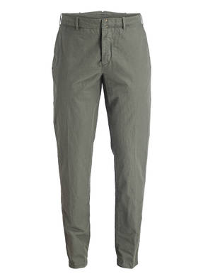 INCOTEX Chino Carrot Fit mit Leinenanteil